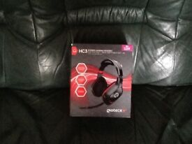 HC3 STEREO GAMING HEADSET XBOX ONE PS4/ PS3 /XBOX 360