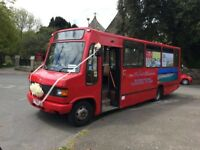 Mercedes 814 bus, 33 Seater with 12 standing (rare max capacity)