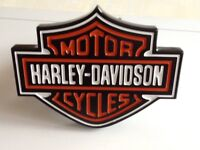 Harley Davidson tow hitch cover