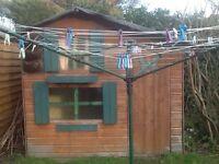 Children's garden shed