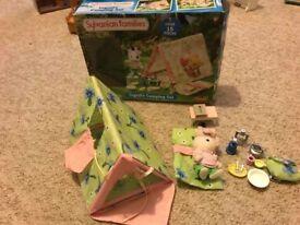 Sylvanian Families boxed Ingrids camping set