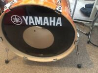 Yamaha Stage Custom Drum Kit with Hardware, Throne, Snare, Cymbals, Sticks and Cases