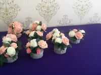 Bridal bouquets & table flowers & lots more