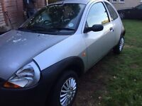 2003 FORD KA, 12 MONTHS MOT, LOW MILES