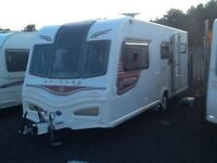 2013 Bailey unicorn madrid 4 berth end changing room with fitted mover