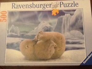 Ravensburger 500 piece Polar bear puzzle South Coogee Eastern Suburbs Preview