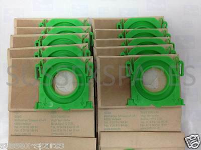 Genuine Sebo Vacuum Cleaner Hoover Bags X C 370 X1 X4 X4 X7 Pet 5093ER 10Pk NEW!