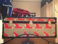 ANORAK proven fox steamer trunk