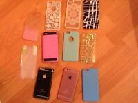 iPhone 6 cases x 10 plus screen protectors