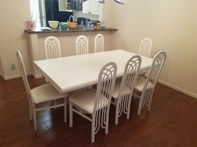 contemporary Dining Room table & chairs for 8