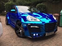 porsche cayenne 4.5 v8 chrome blue all extras like audi q7 s3 bmw m3 x5 x6 range rover turbo c63 amg