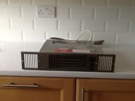 MYSON Kickspace 500 Duo combined hot water and electric fan convector