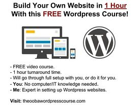 I Will Teach You How to Build Your Own Website in 1 Hour - For FREE!