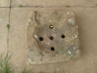 Reclaimed Stone Drain