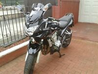 cat c (repaired) gsf650 2009 has had mot since title