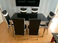NEW TURKISH DINNING TABLES AND CHAIR💯 4/6 People dinning table & chairs at Factory Rate