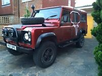 97' 9 seater Land Rover Defender 110 300TDI