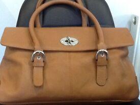 Leather Bag Hand Made Rowallan Beautiful immaculate perfect
