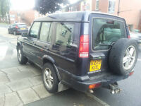 landrover td5 discovery 7 seater 129000 miles £1500 no offers