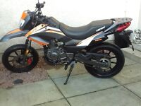 125cc KEEWAY TXM in mint condition only covered 900 miles