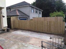 Landscaping,fencing,building