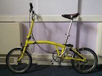 Brompton fold up bike... 2012