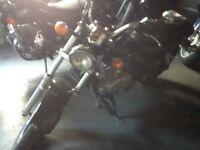 Suzuki Marauder 125cc, black, 5,000 miles