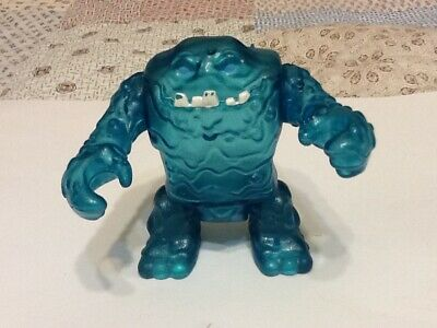 Fisher Price Imaginext DC Comics Ice Monster Clay Face Clear Blue Figure rare