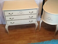 vintage french louis style drawers