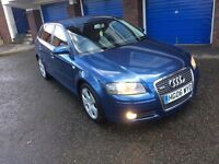 AUDI A3 PETROL 5 DOOR MOT 01/2018 cheap to run cheap to insure CD PLAYER HALF LEATHER SEATS
