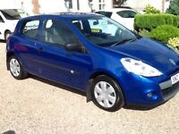 2010 CLIO 1.5 DCI £30 TAX