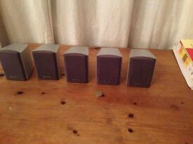 Sony Surround Sound Speakers (5)