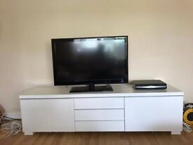 IKEA TV bench BESTÅ BURS