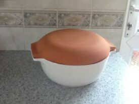 Strong oven dish unused m&s casserole with lid