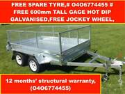 12x6 TANDEM HOT DIP GALVANISED TRAILER Dandenong South Greater Dandenong Preview