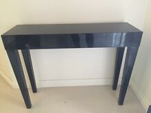 Modern gloss black hall table Mount Barker Mount Barker Area Preview