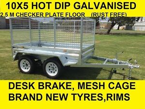 10x5 TANDEM HOT DIP GALVANISED 2000 KG ATM GREAT QUALITY Dandenong South Greater Dandenong Preview