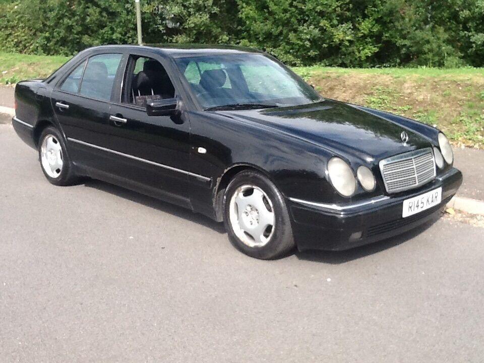 Mercedes benz e class e300 td avantgarde black 1998 in for 1998 mercedes benz e300