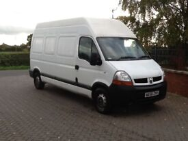 Renault master. 2.5 td hi roof lwb. 10 month mot. Good condition