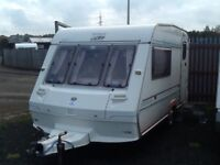 1995 ABI ace airstream 2 berth with awning