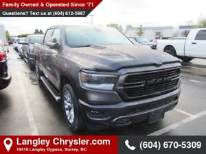 2019 RAM 1500 Sport *LEVEL 2 GROUP* *TOW PACKAGE*