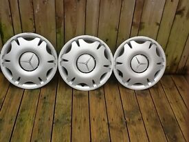 "Mercedes 15"" wheel trims"