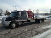 2004 International 4300 Flatbed Tow Truck