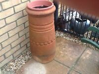 Old chimney pot for ornamental use.