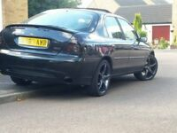 ford mondeo mk2 with st200 mods 18 inch alloy wheels