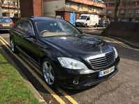 MERCEDES S CLASS 320 CDI DIESEL FULL AMG KIT FORM THE FACTORY !!!!