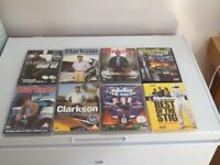 Variety of Top Gear, Clarkson, Stig Bundle of 8 DVDs. Classics