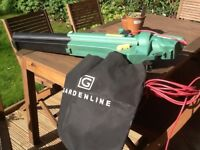 Gardenline Electric Leaf Blower/Vacuum