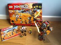 Lego Ninjago Salvage MEC full set