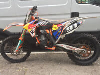 ktm 150 sx 2012 in excellent condition